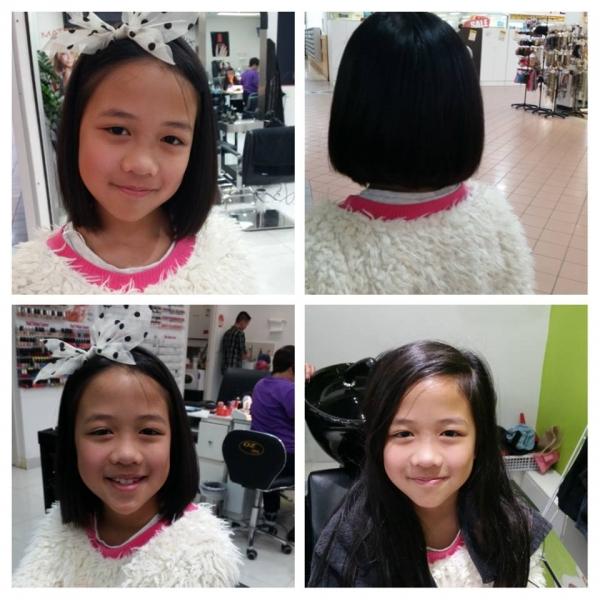 Shari had a haircut.