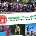 Expressions of Interest Now Open for the Variety Alopecia Areata Adventure Camp 2019!