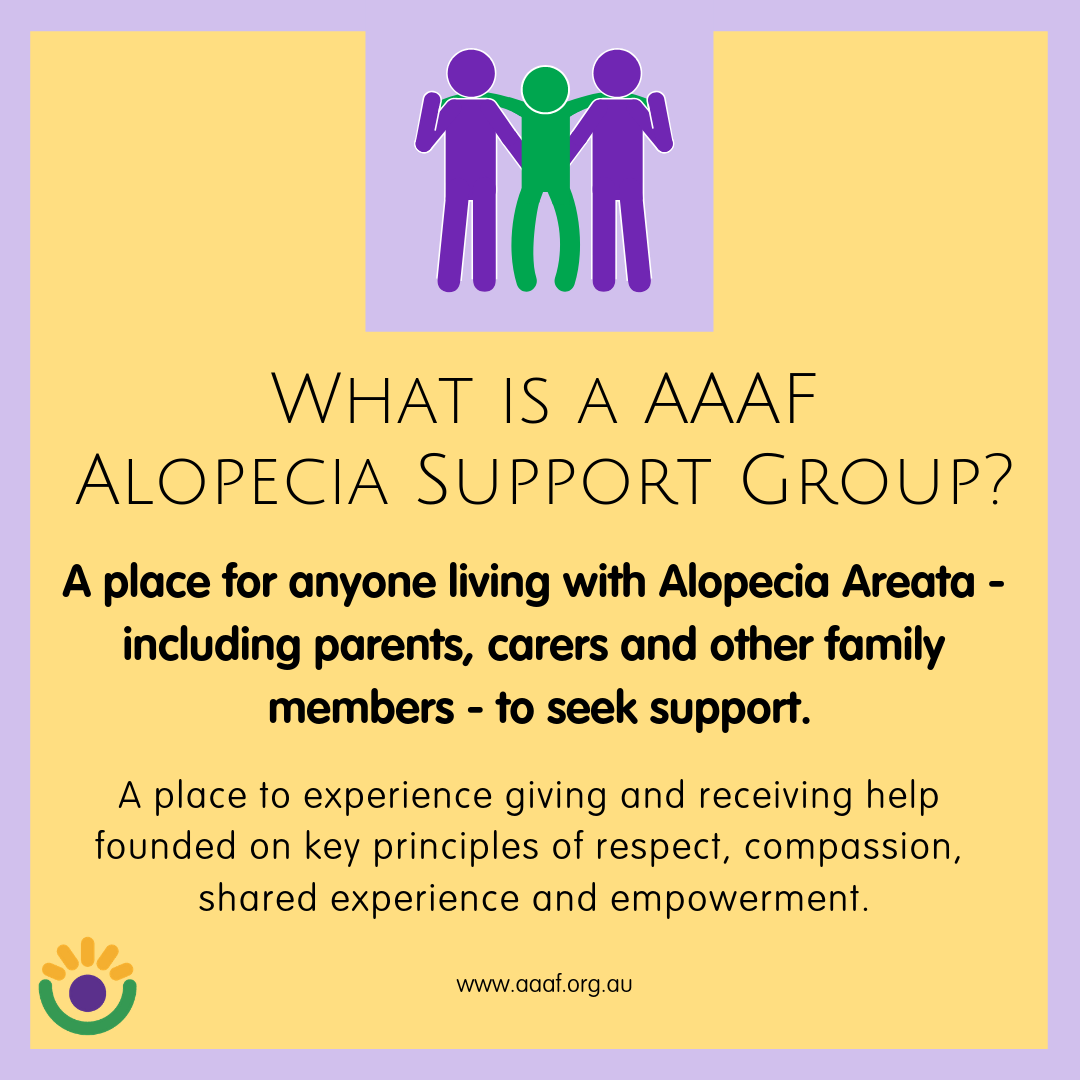 Joining an Alopecia Support Group
